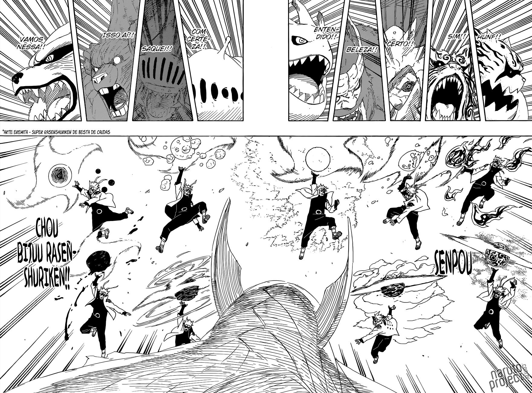 Por que dizem que Naruto é muito, mas muito mais poderoso que o Sasuke? 09
