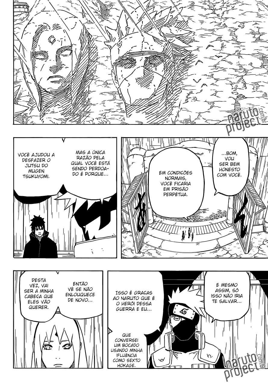 Entenda porque o Sasuke saiu de konoha e ficou 12 away 13