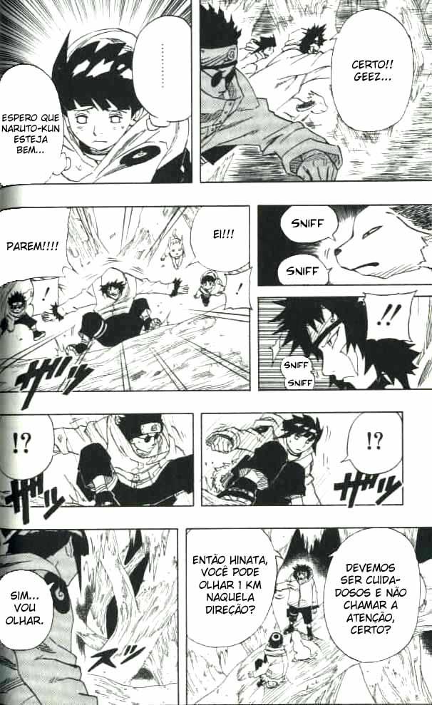 Onde é dito ou mostrado oficialmente que Byakugan pode ver através da Kirigakure? - Página 2 06