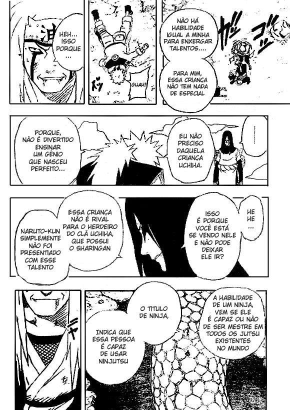 """Naruto e Tobirama - """"Trabalho duro"""" vs Gênio.  16"""