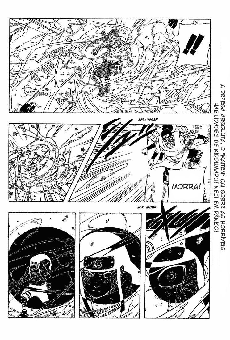 Se o Byakugan possui visão raio-x, porque os Hyuugas não conseguem ver debaixo da terra? 02