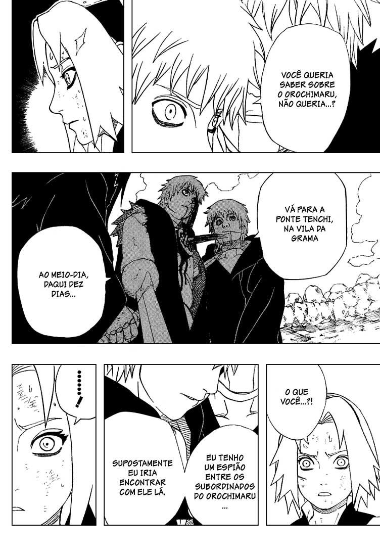 Sasori estava economizando chakra para lutar com Orochimaru ? 10