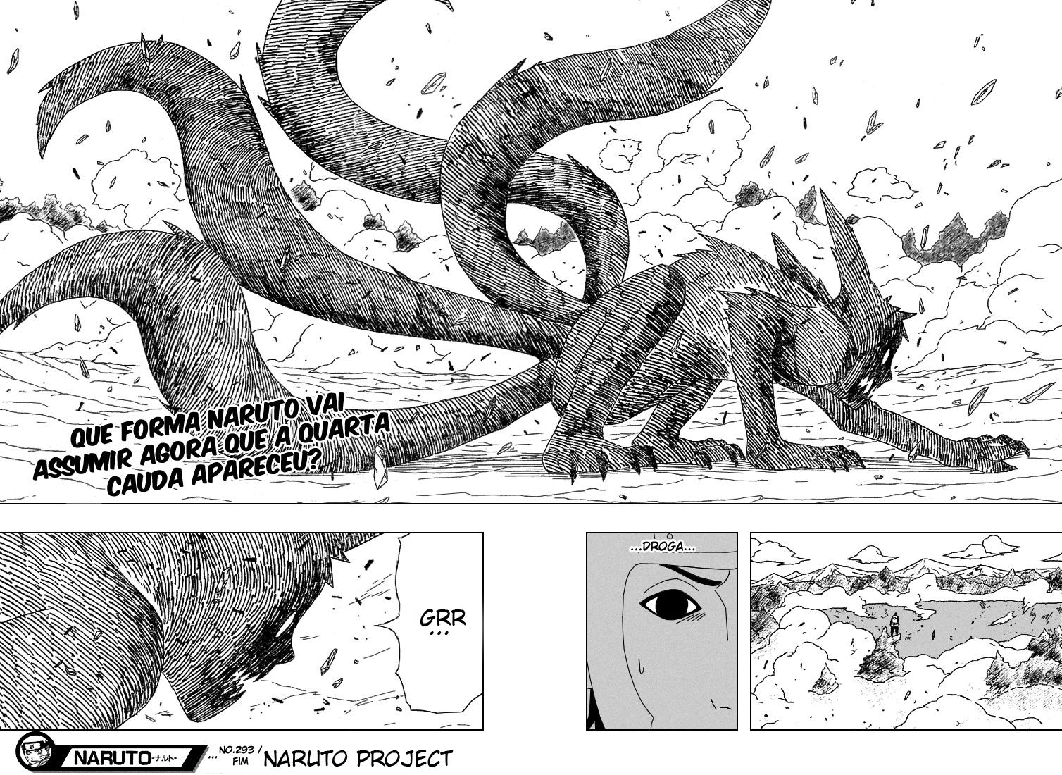 Kin e Gin são Jinchuurikis fakes? 16-17
