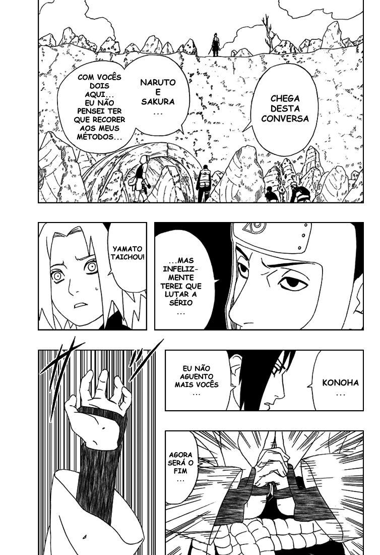 Tsunade vs Sasuke Hebi 13