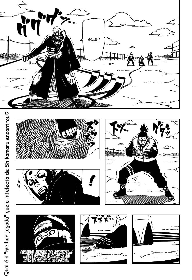 Analisando o cenário de Hidan x Quarteto de Konoha  01