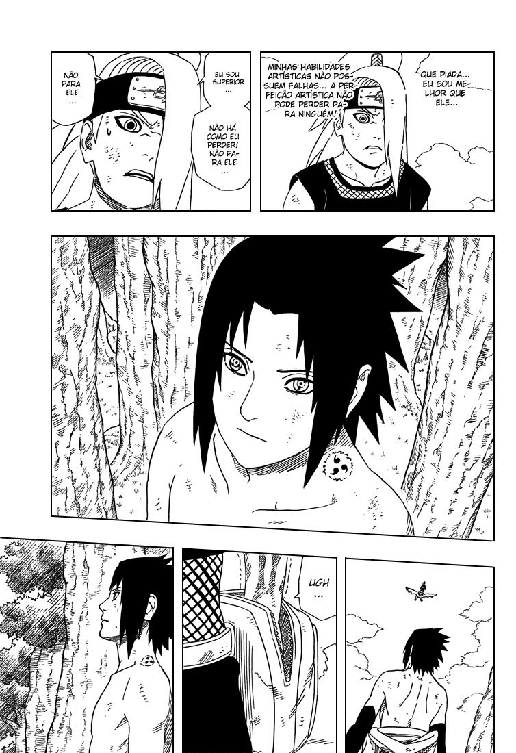 Roteiro em Sasuke vs. Deidara 15