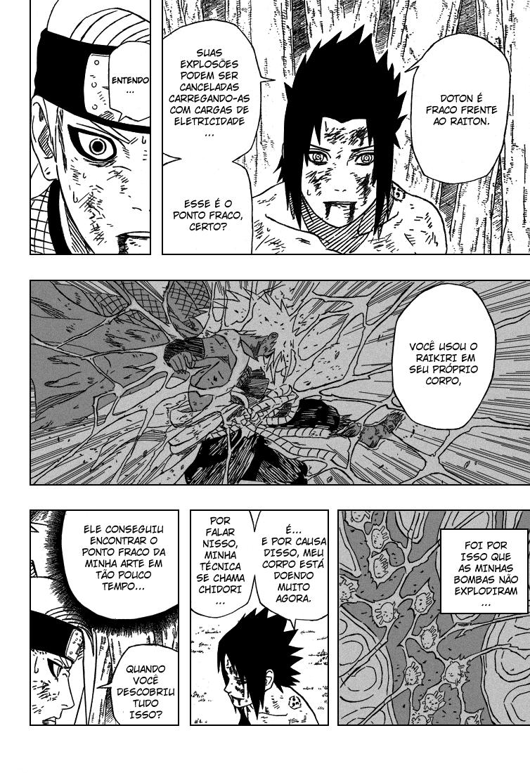 Roteiro em Sasuke vs. Deidara 14