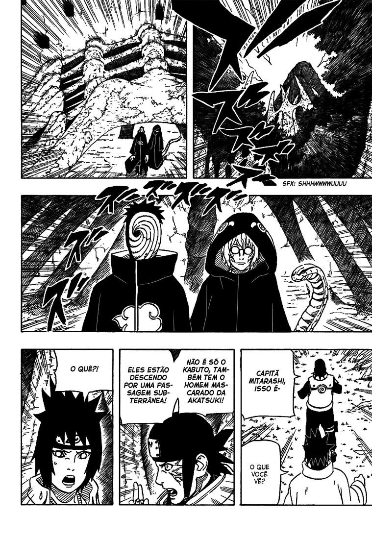 Se o Byakugan possui visão raio-x, porque os Hyuugas não conseguem ver debaixo da terra? 08