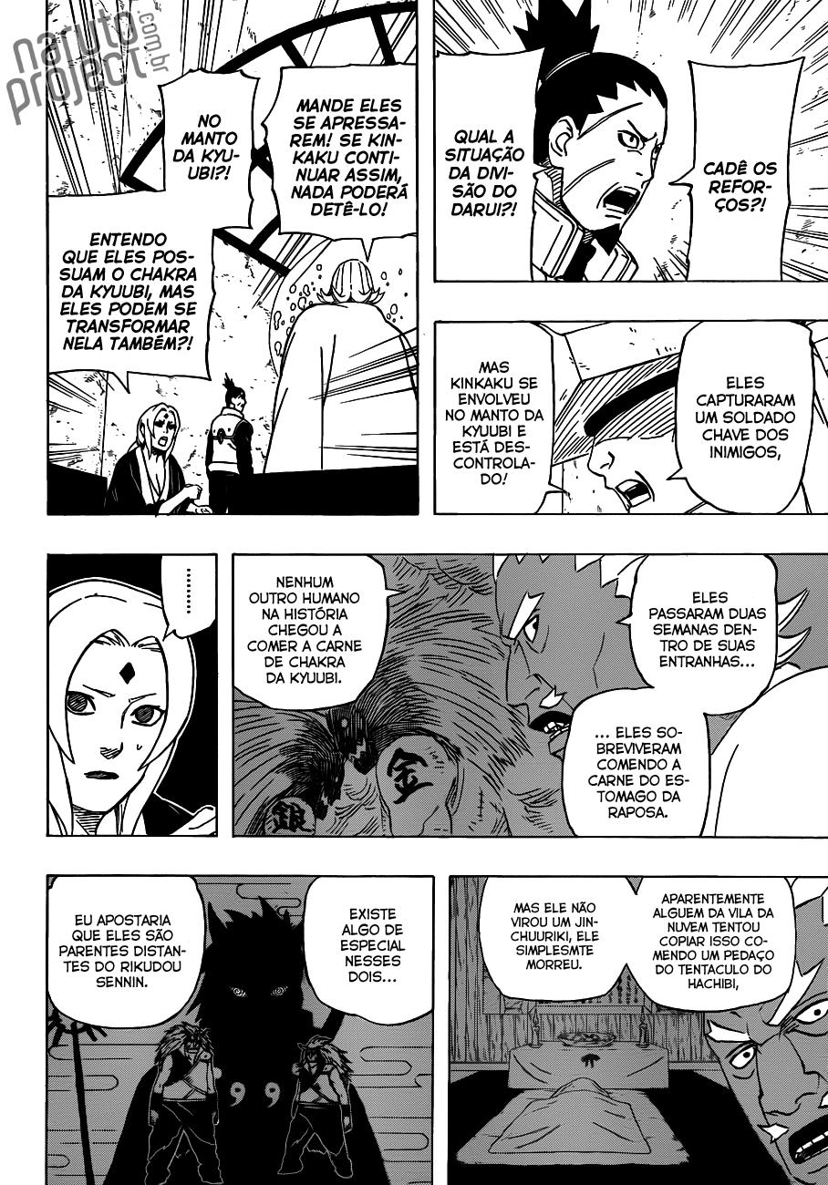 Shino poderia derrotar uma Bijuu com Kidaichū — Mushiku? 04