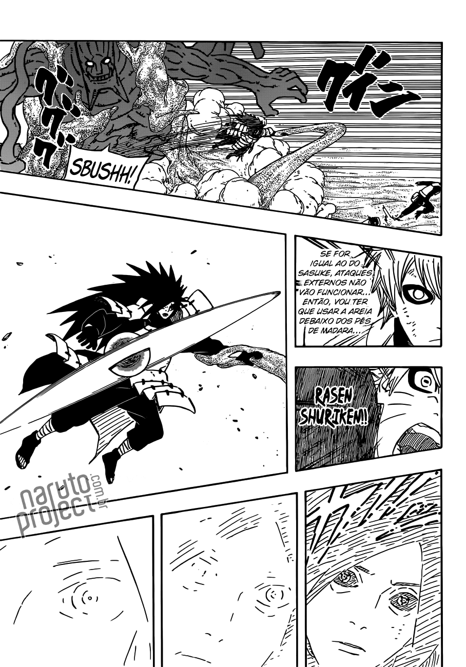 Hidan,Juugo e Suigetsu vs Kinshiki 13