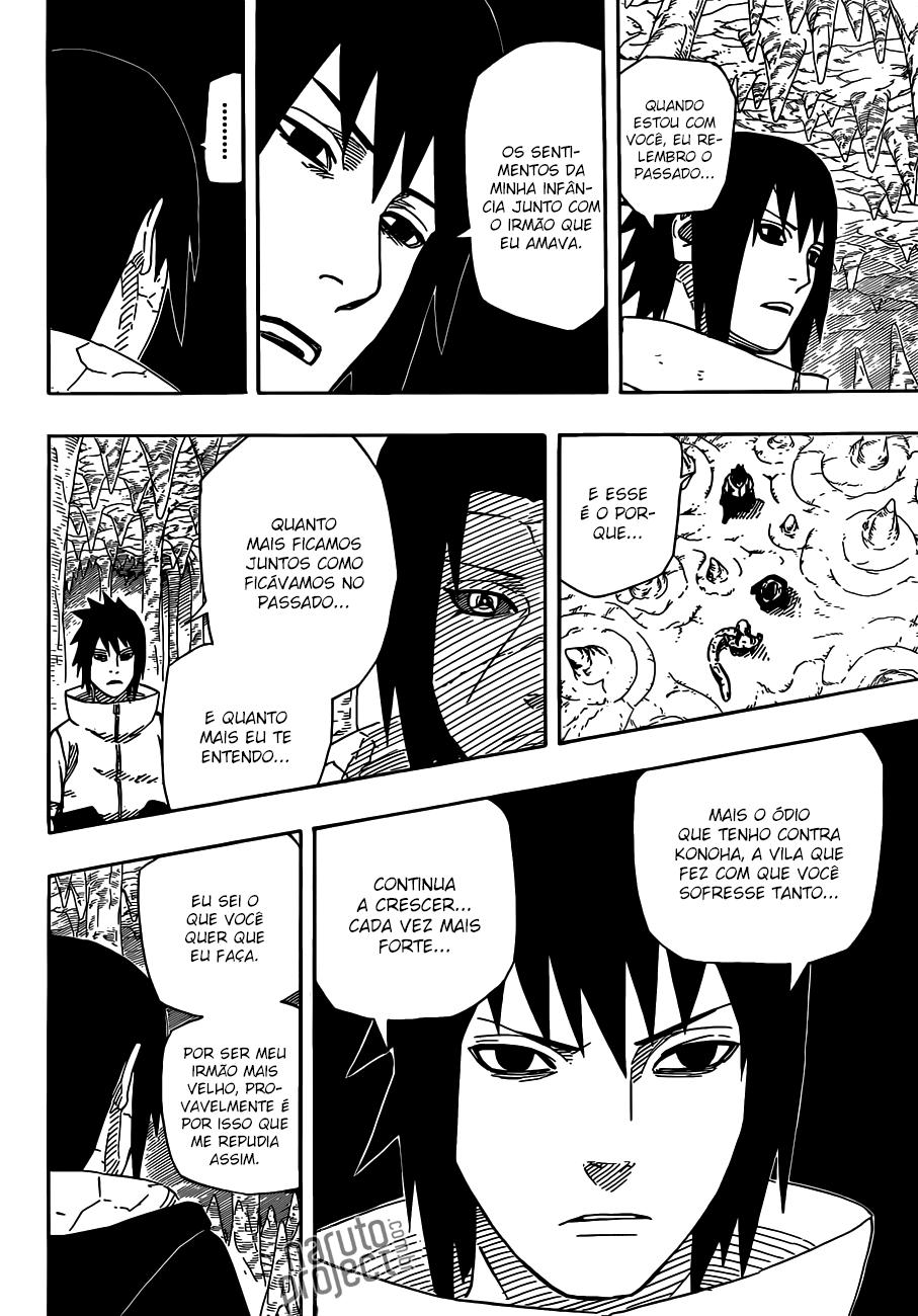 Itachi errou com Sasuke? 08