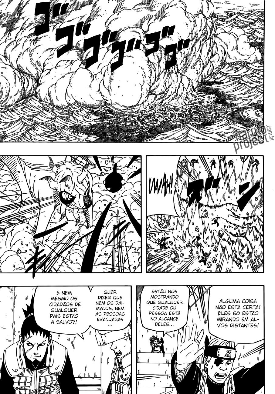 Bijuudama padrão destruiria Konoha facilmente. 10