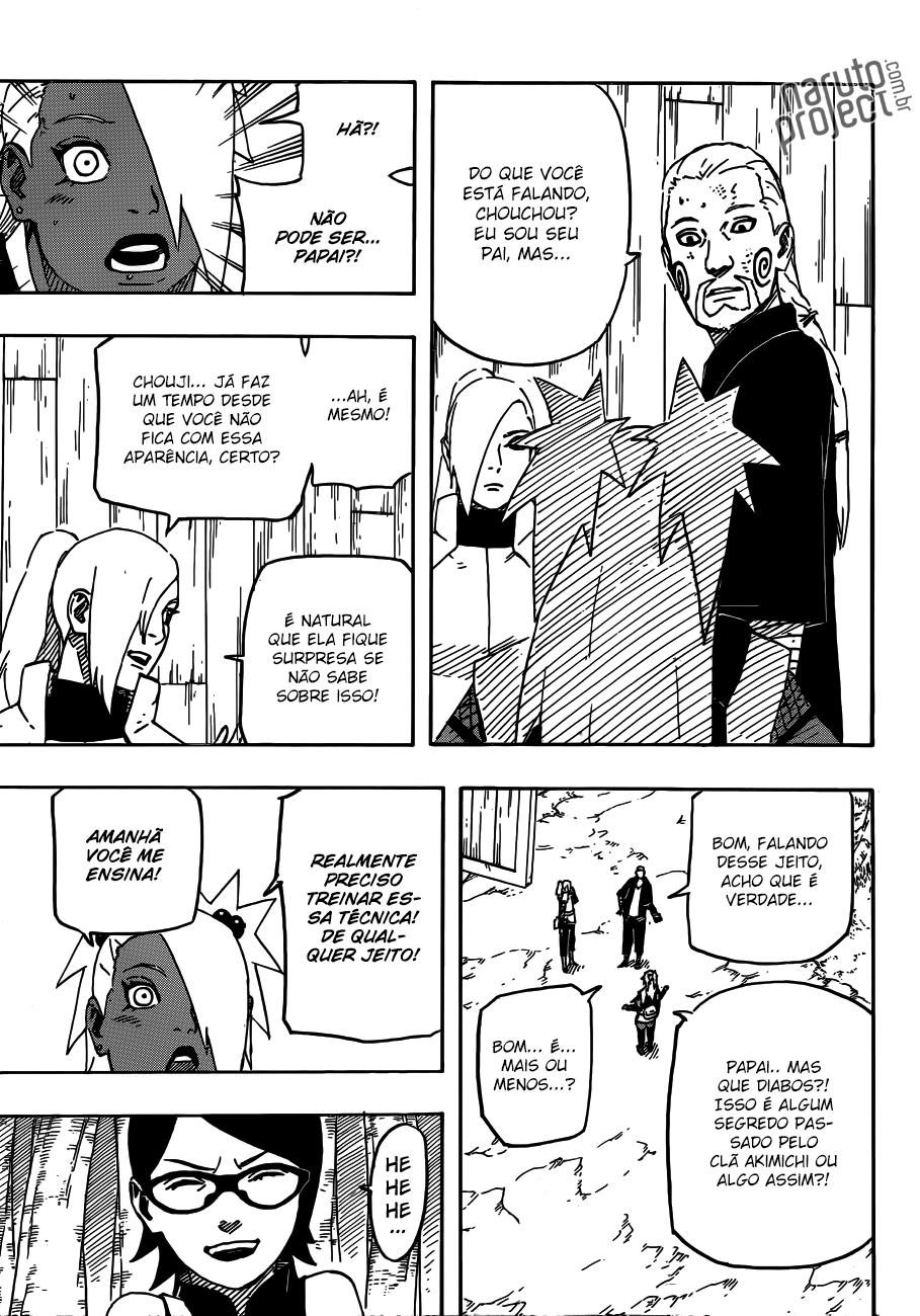 Hinata consegue identificar chacra melhor que a Ino?   11